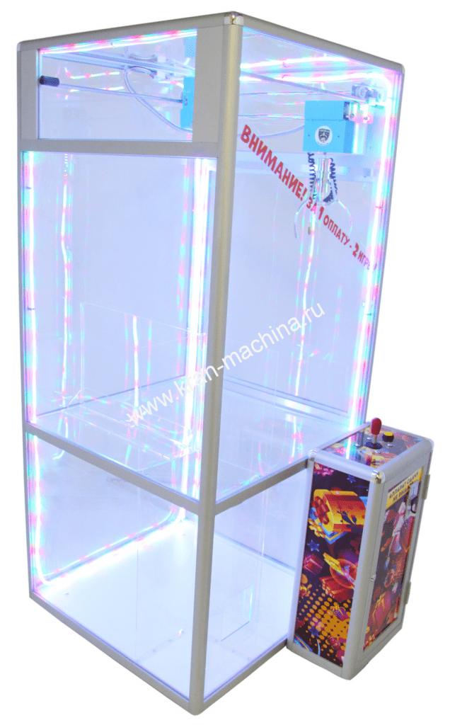 Автомат Хватайка куб 2 игры